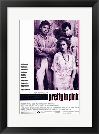 Framed Pretty in Pink Print