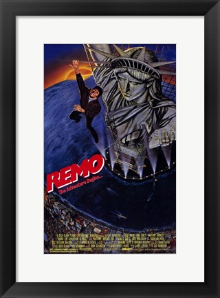 Framed Remo Williams: the Adventure Begins Print