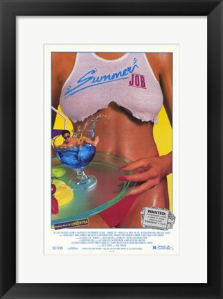 Framed Summer Job Print