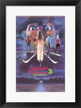 Framed Nightmare on Elm Street 3: Dream Warrior Print