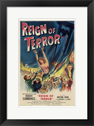 Framed Reign of Terror Print