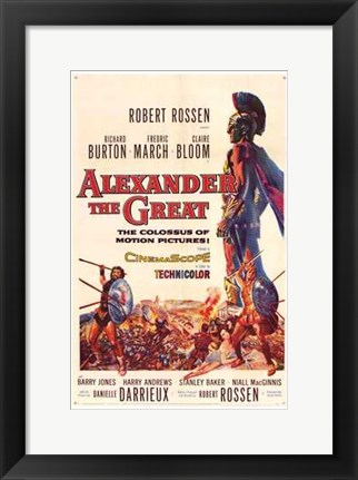 Framed Alexander the Great Print