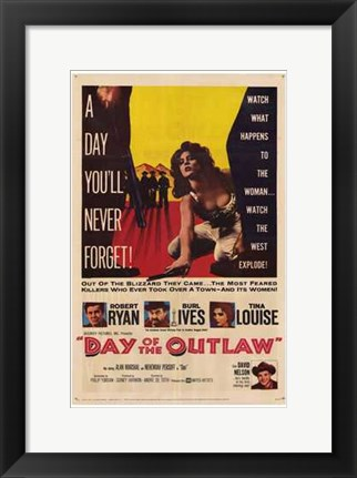 Framed Day of the Outlaw Print