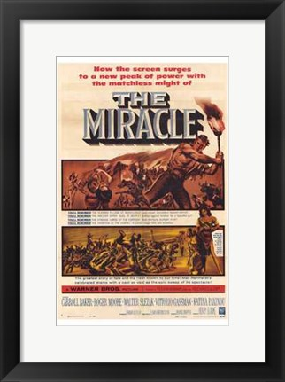 Framed Miracle Print