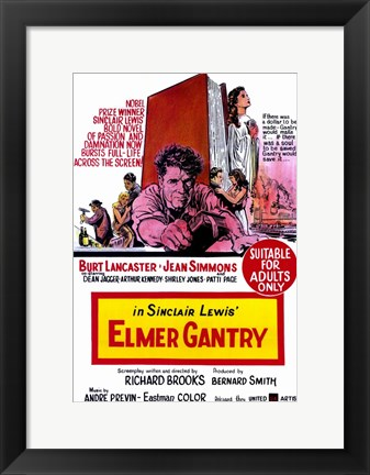 Framed Elmer Gantry Print