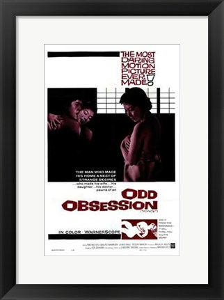 Framed Odd Obsession Print