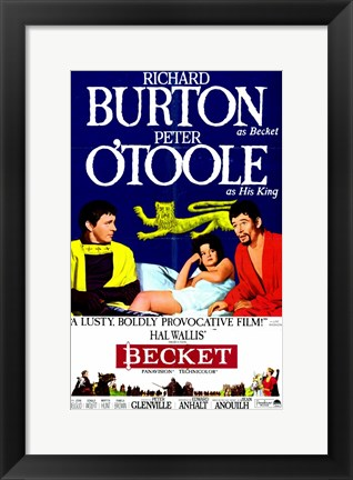 Framed Becket Lusty Boldly Provocative Print