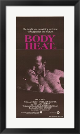 Framed Body Heat Print