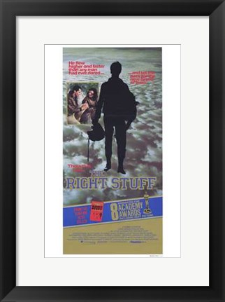 Framed Right Stuff 8 Academy Awards Print