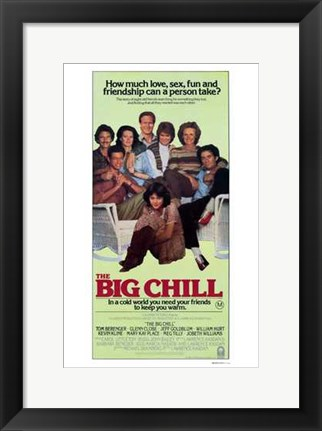 Framed Big Chill Movie Print
