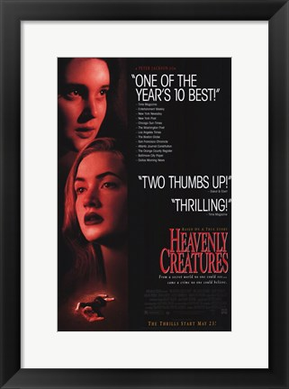 Framed Heavenly Creatures Print