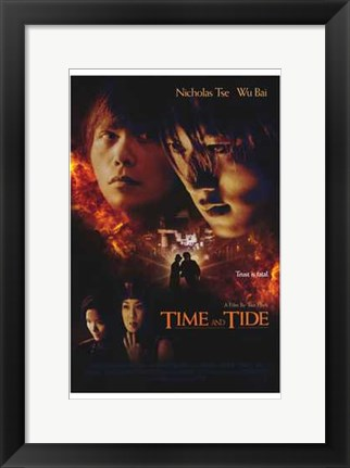 Framed Time and Tide Print