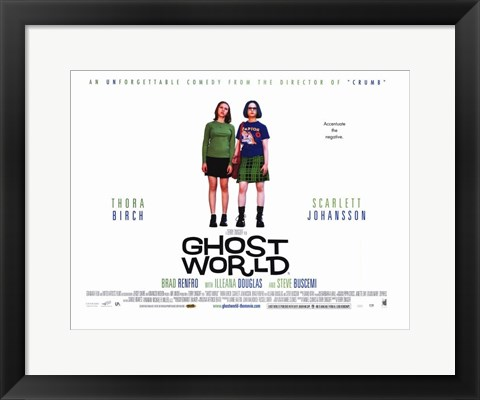 Framed Ghost World Print