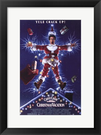 Framed National Lampoon's Christmas Vacation Print