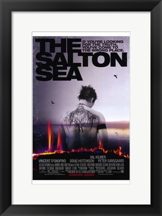 Framed Salton Sea Print