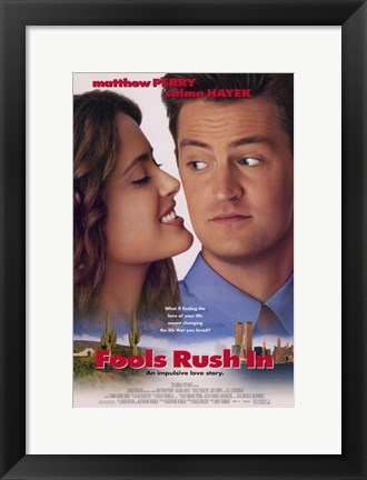 Framed Fools Rush in Print