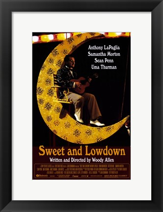 Framed Sweet and Lowdown Print