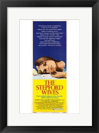 Framed Stepford Wives Tall Print