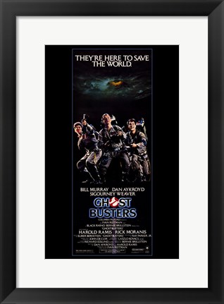 Framed Ghostbusters Tall Print