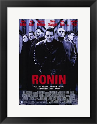 Framed Ronin German Print