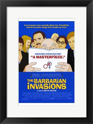 Framed Barbarian Invasions Print