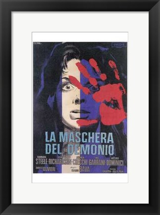 Framed Black Sunday - Italian Print