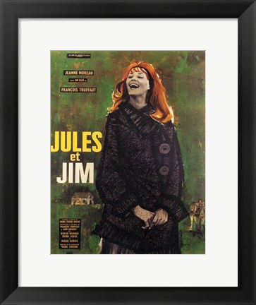 Framed Jules and Jim Print