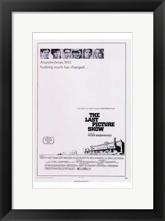 Framed Last Picture Show Print