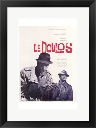 Framed Le Doulos Print