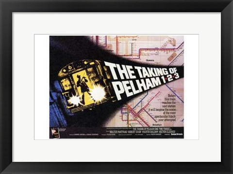 Framed Taking of Pelham One Two Three - Horizontal Print