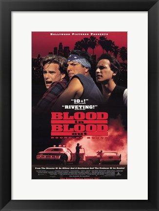 Framed Blood in Blood Out: Bound By Honor Print