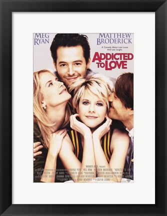 Framed Addicted to Love - movie cover Print