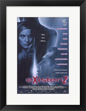 Framed Existenz Jennifer Jason Leigh Print