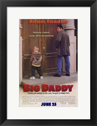 Framed Big Daddy Print