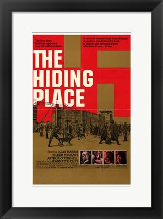 Framed Hiding Place Print
