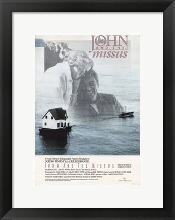 Framed John and the Missus Print