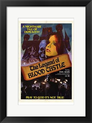 Framed Legend of Blood Castle Print