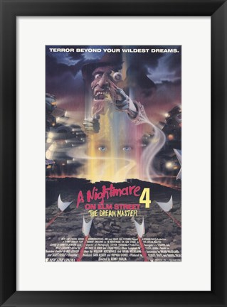 Framed Nightmare on Elm Street 4: Dream Master Print
