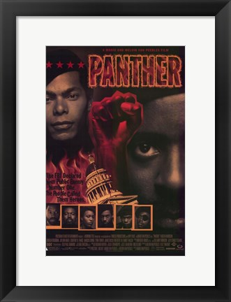 Framed Panther Print