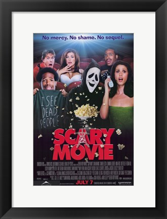 Framed Scary Movie Print