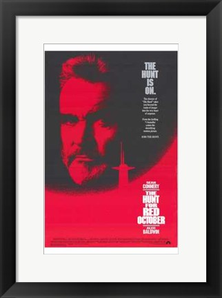 Framed Hunt for Red October Print