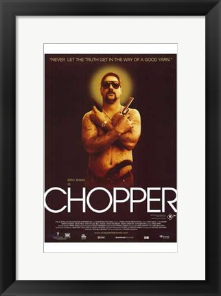 Framed Chopper Print