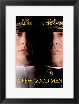 Framed Few Good Men  a Print