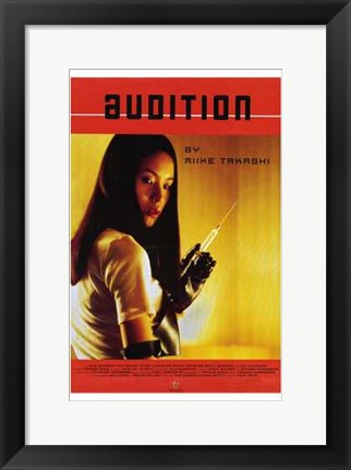Framed Audition Print