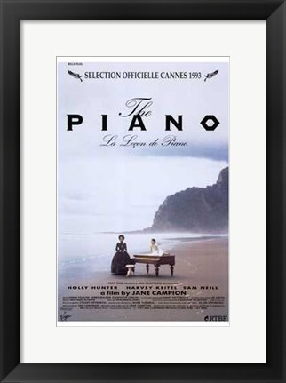 Framed Piano French Print