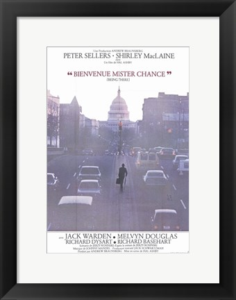 Framed Being There - Peter Sellers Print