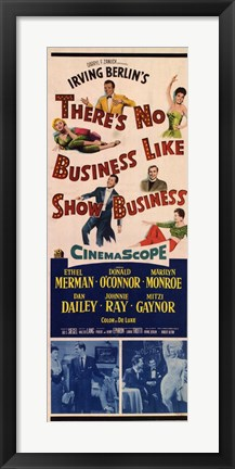 Framed There's No Business Like Show Business Print