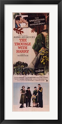 Framed Trouble with Harry - Tall Print