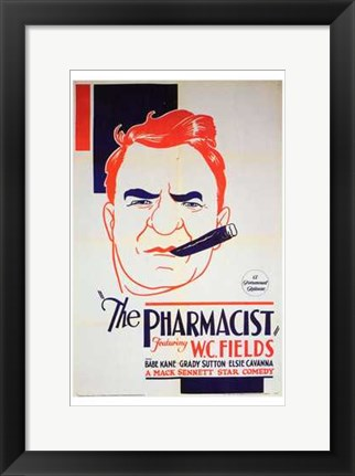 Framed Pharmacist Print