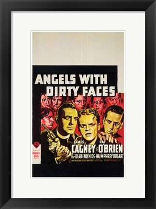 Framed Angels with Dirty Faces The Dead End Kids Print